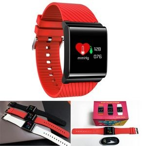 Colorful OLED Touch Screen Heart Rate & Blood Oxygen Smert Band